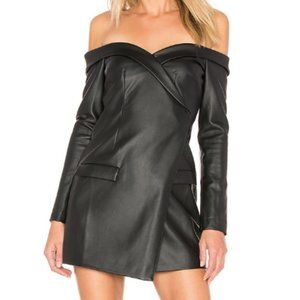 Lovers + Friends Carmela Blazer Dress Black